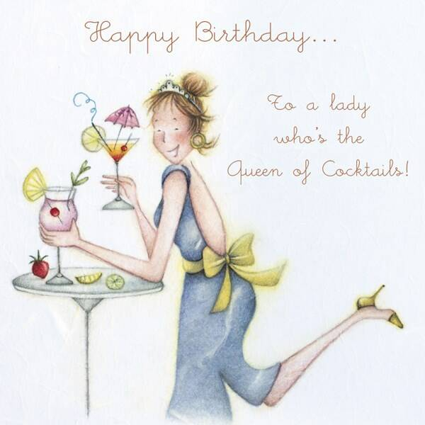 Happy Birthday to a lady who's the Queen of Cocktails