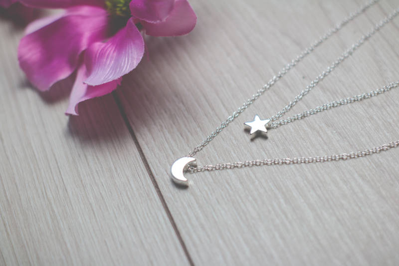 Dubbel Moon&Stars Necklace