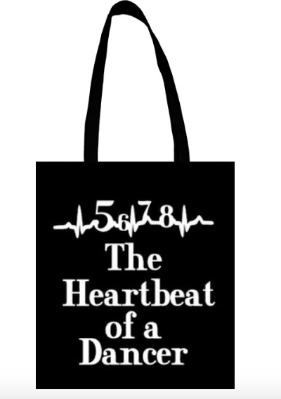 Heart of a dancer bag