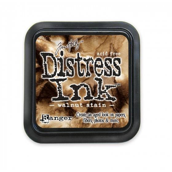 Tim Holtz Distress ink groot - Walnut Stain