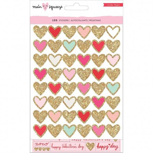 Crate paper Main squeeze waterfall stickers