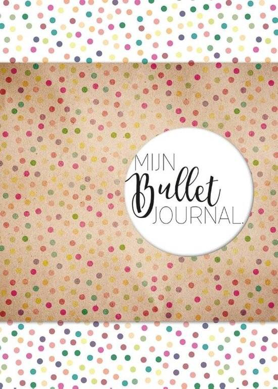 MUS Mijn Bullet Journal - Confetti