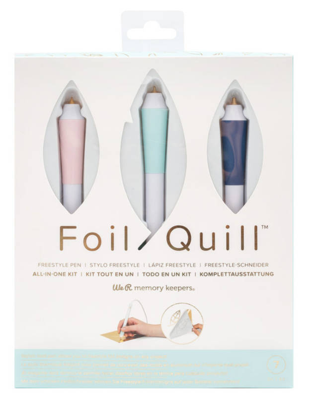 Foil Quill Freestyle All-in-one KIT We R Memory Keepers - Scrappiness.be