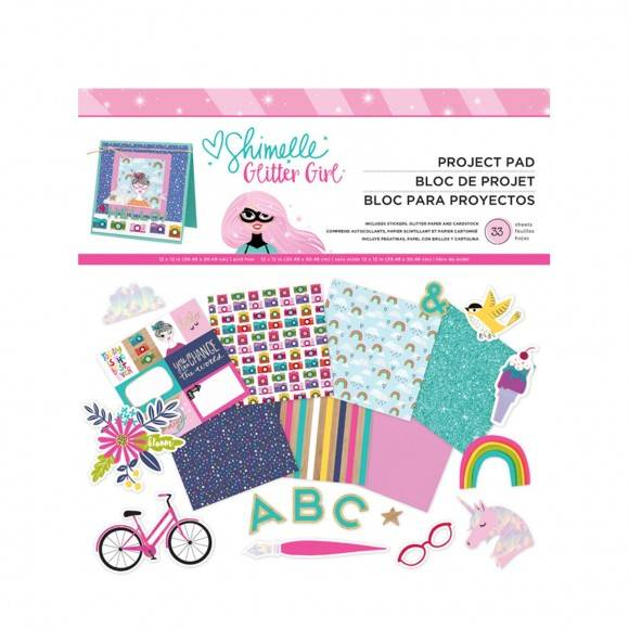 """American Crafts - Shimelle Paper pad KIT 12"""" x 12"""""""