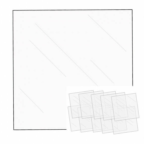 We R Memory Keepers FUSEables Clear Sheets - set van 10