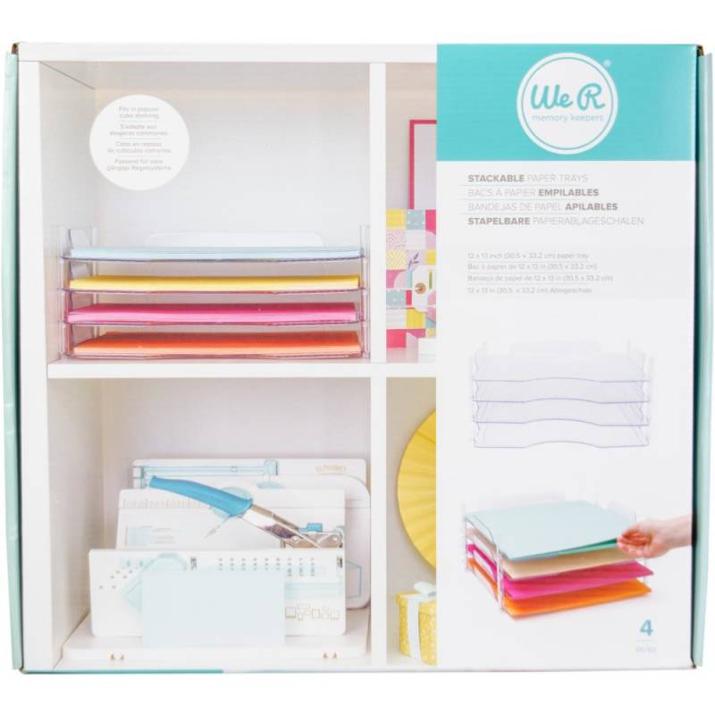 We r Memory Keepers stackable papertrays