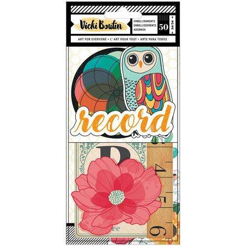 Wildflower and Honey by Vicky Boutin - American Crafts - Embellishments 1