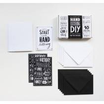 DIY Handletterbox Make your own Cards - Paperfuel