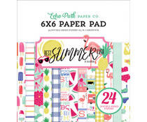 Echo Park - Best summer ever - paper pad 6""