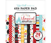 Echo Park - Magical Adventure 2 - paper pad 6""