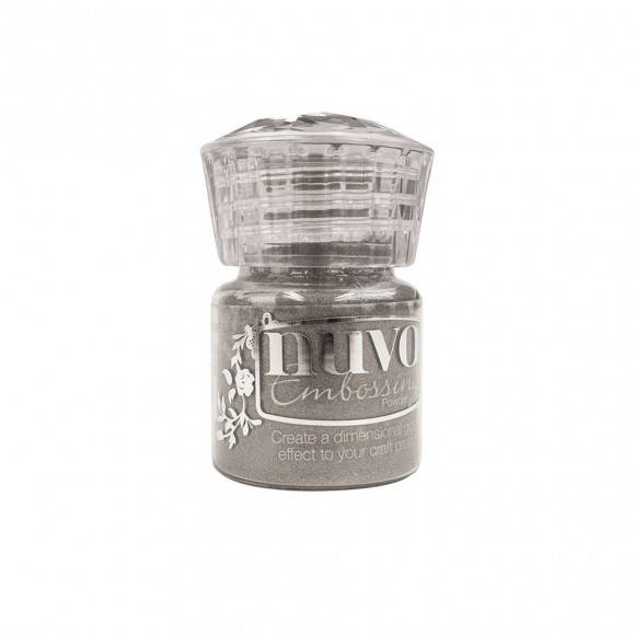 Pre-order:Tonic Studios Nuvo embossing poeder classic silver
