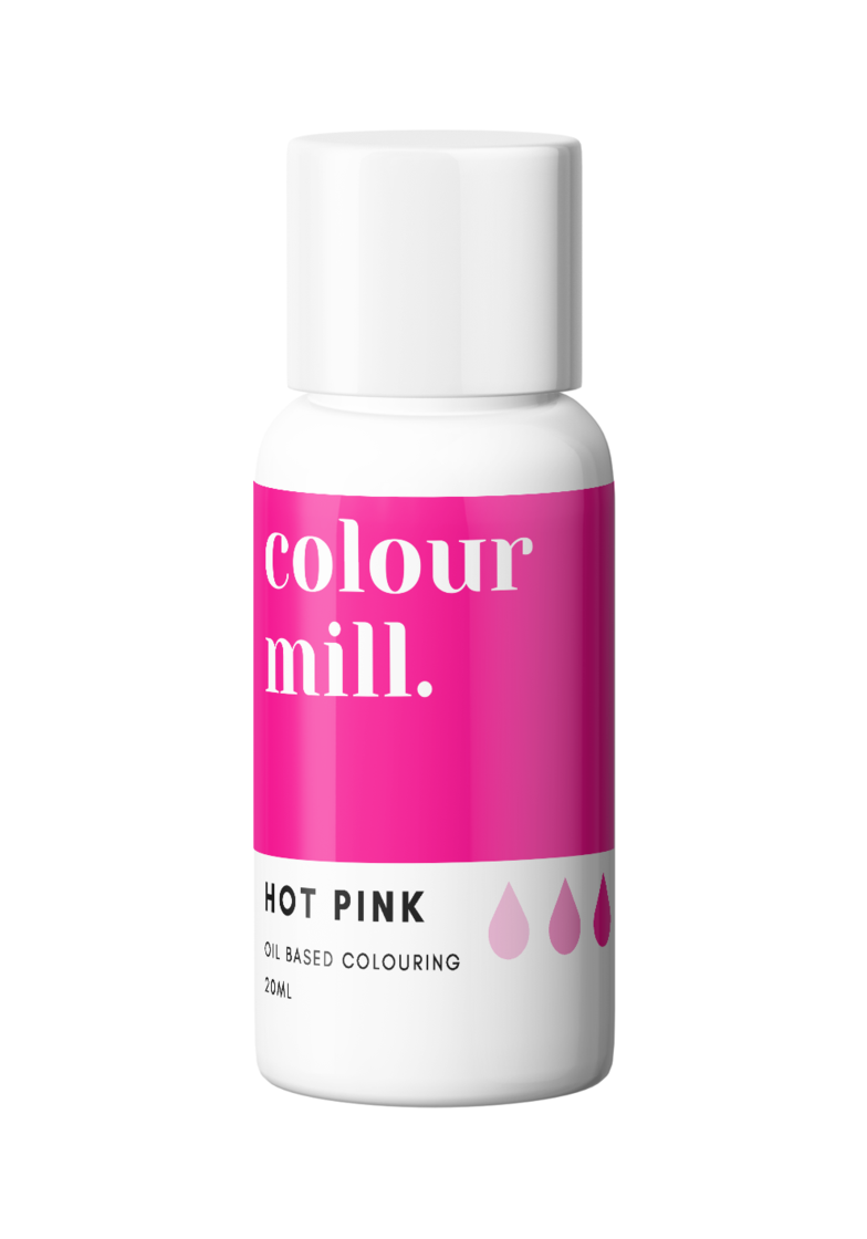 COLOUR MILL Hot Pink Oil Based Food Colouring 20ml