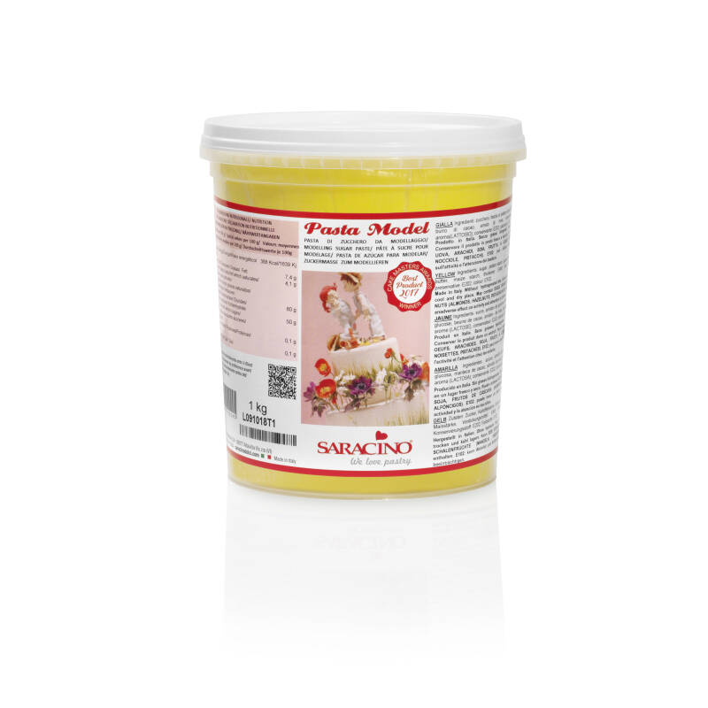 YELLOW MODEL PASTE 1kg