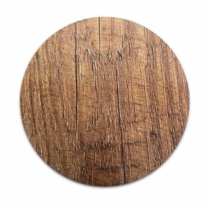Wood Effect Masonite Cake Board 25cm