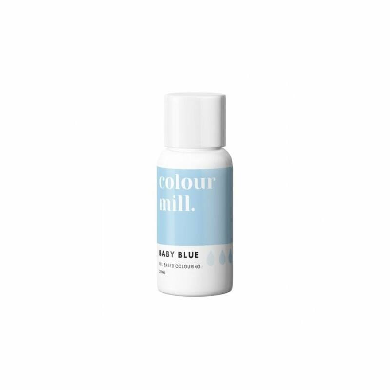COLOUR MILL Baby Blue Oil Based Food Colouring 20ml
