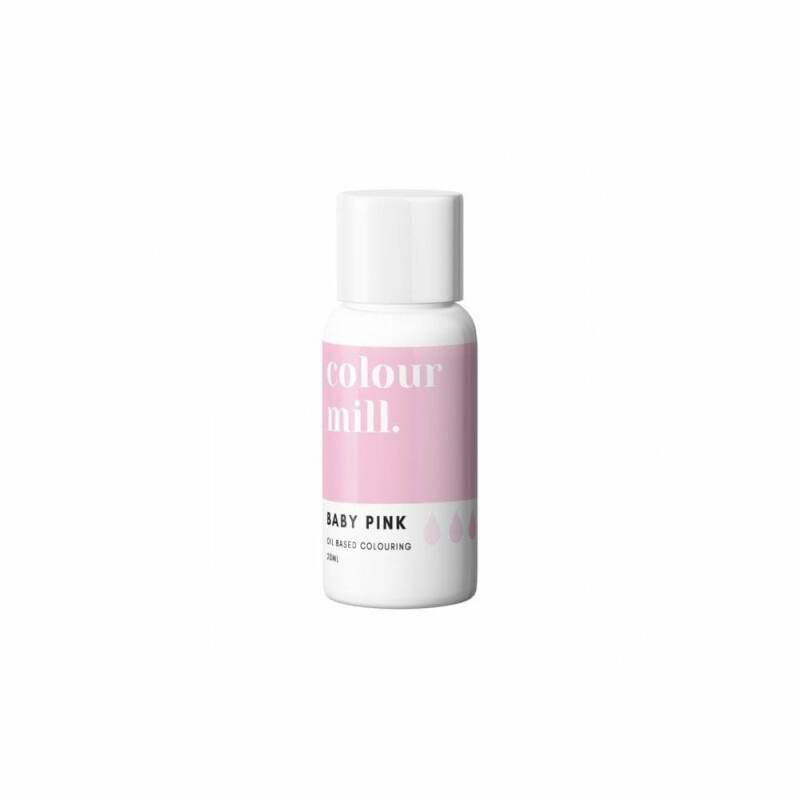 COLOUR MILL Baby Pink Oil Based Food Colouring 20ml