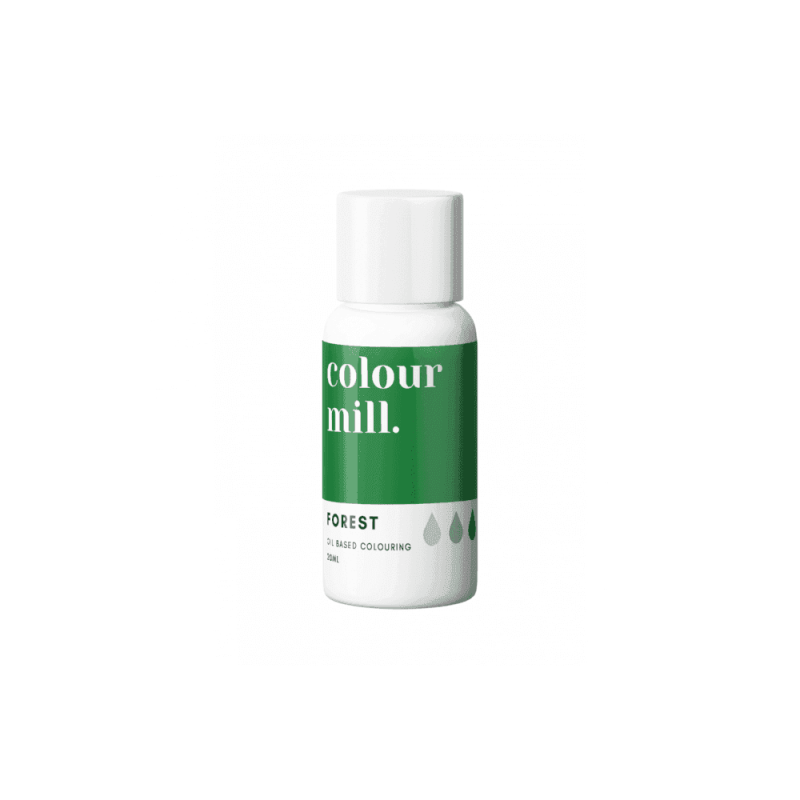 COLOUR MILL Forest Oil Based Food Colouring 20ml