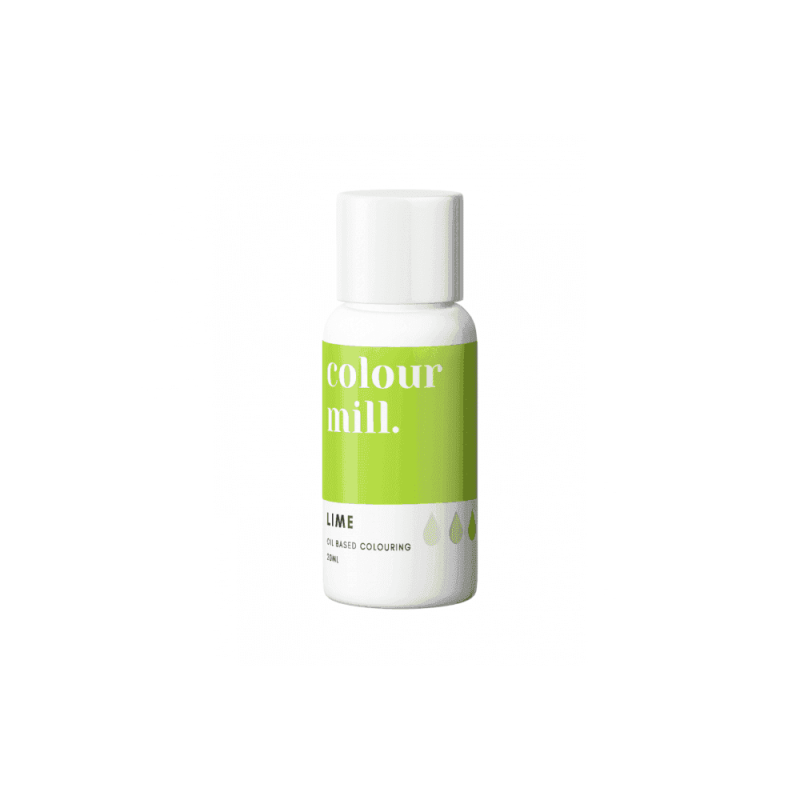 COLOUR MILL Lime Oil Based Food Colouring 20ml