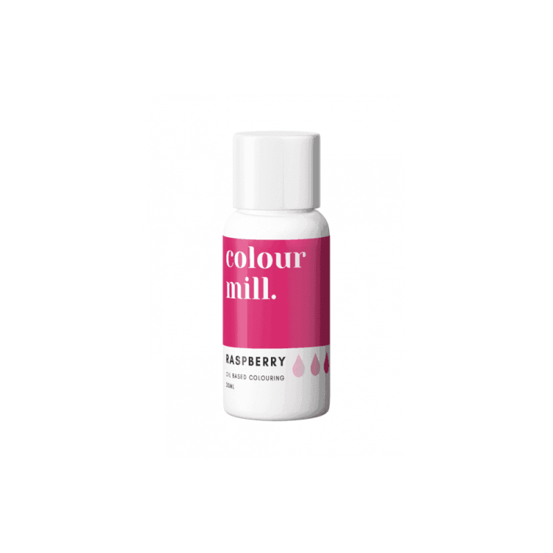 COLOUR MILL Raspberry Oil Based Food Colouring 20ml