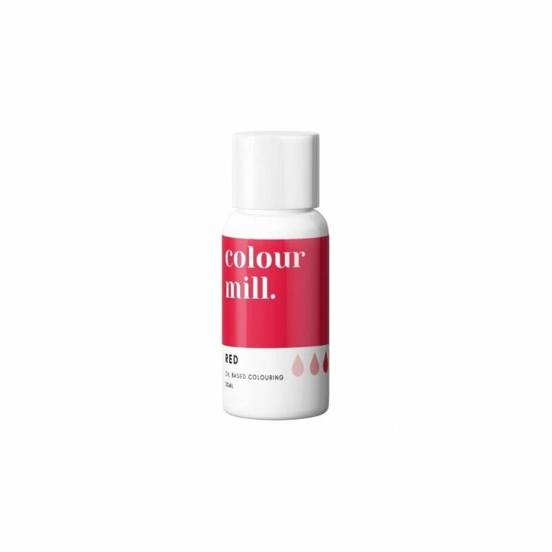 COLOUR MILL Red Oil Based Food Colouring 20ml