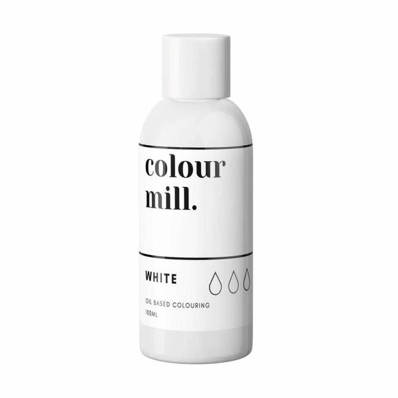 COLOUR MILL White Oil Based Food Colouring 100ml