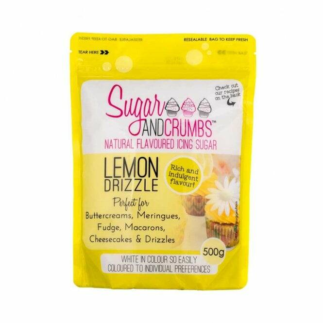 Sugar And Crumbs Lemon Drizzle – Icing Sugar 500g