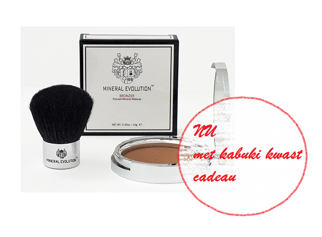 Minerale make-up, bronzer