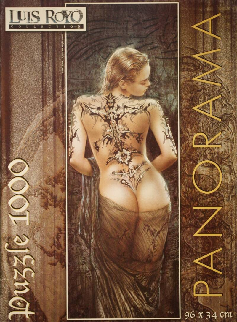 Luis Royo collection Flower of pain 1000 st