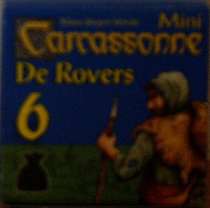 999-games Carcassonne mini uitbreiding De Rovers 6