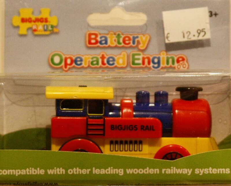 BigJigs Battery operated engine BJT 300