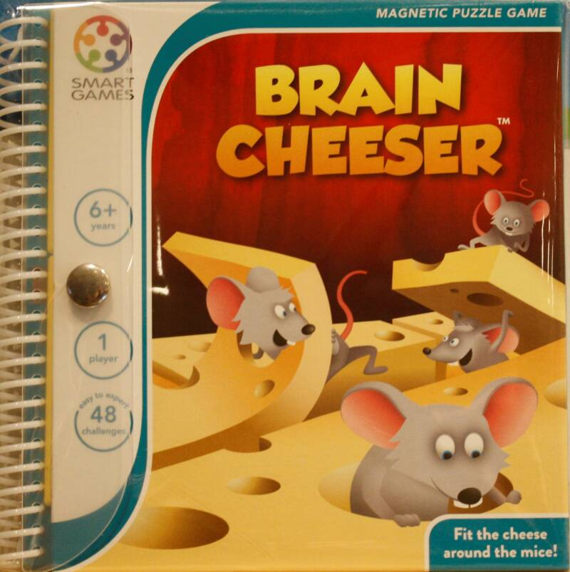 Smart Games Magnetic puzzel Brain cheeser  250