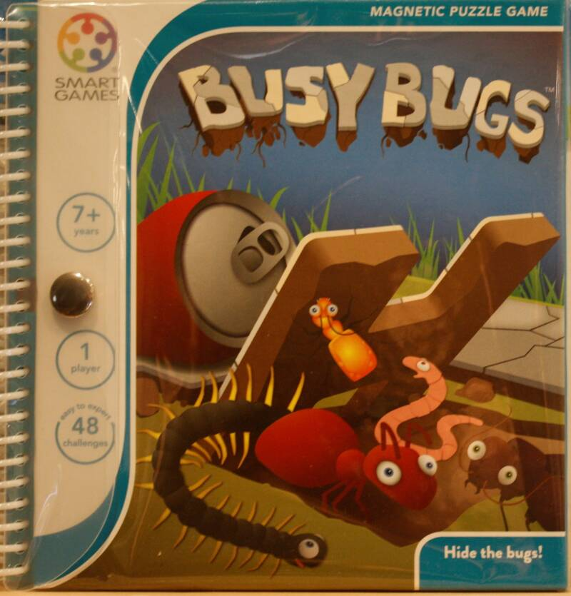 Smart Games Magnetic puzzel Busy Bugs 230