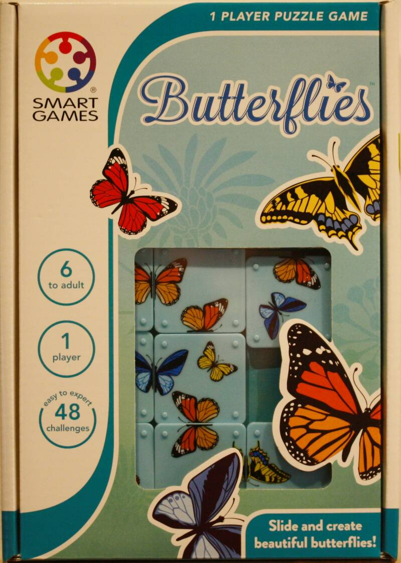 Smart Games  puzzel game Butterflies 439