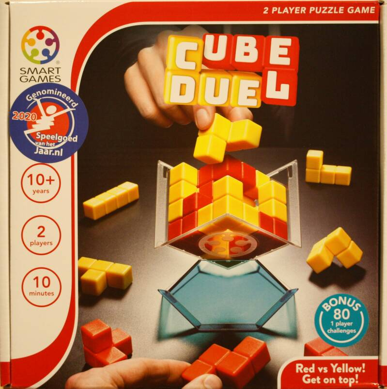 Smart Games  puzzel game Cube Duel  201