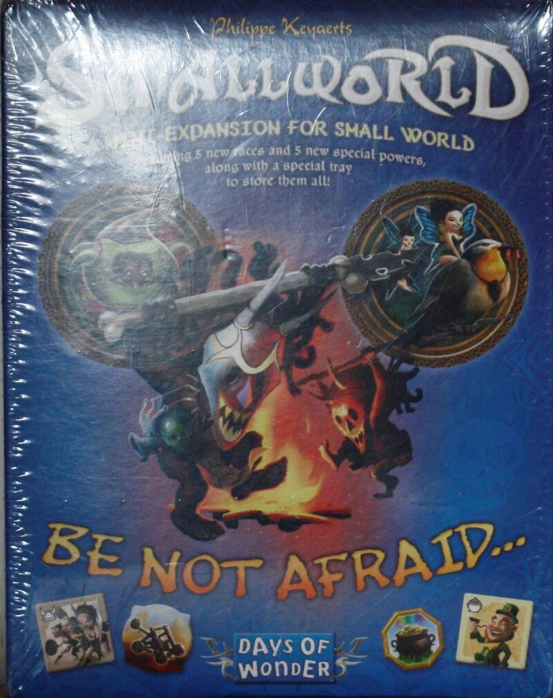 Days of wonder Smallworld mini uitbreiding be not afraid..