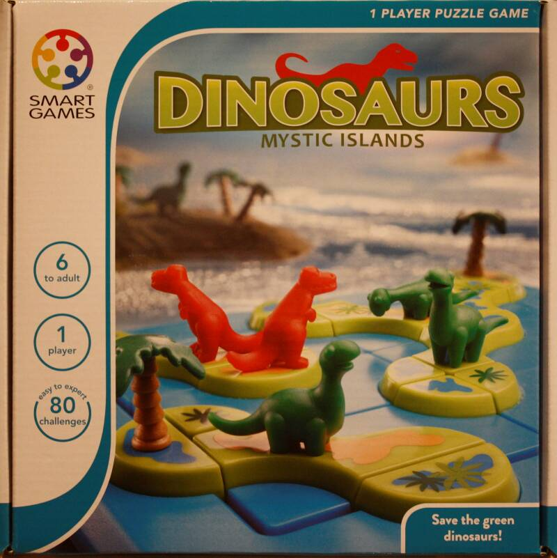 Smart Games puzzel game Dinosaurs 282
