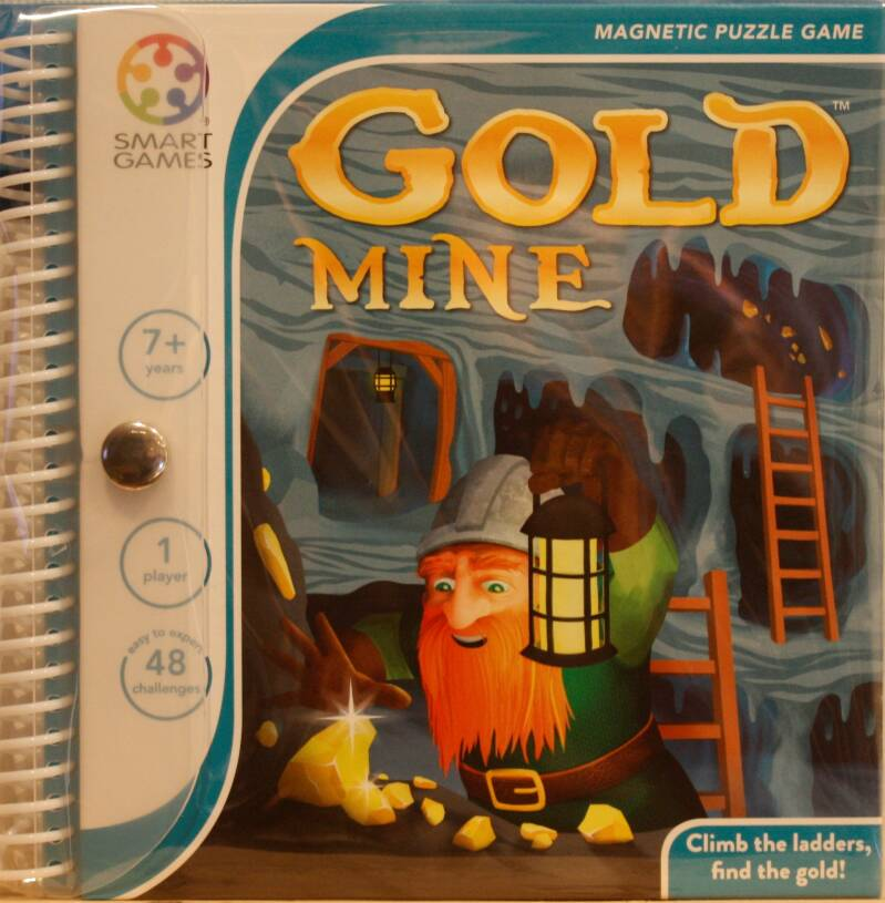 Smart Games Magnetic puzzel Gold mine 280