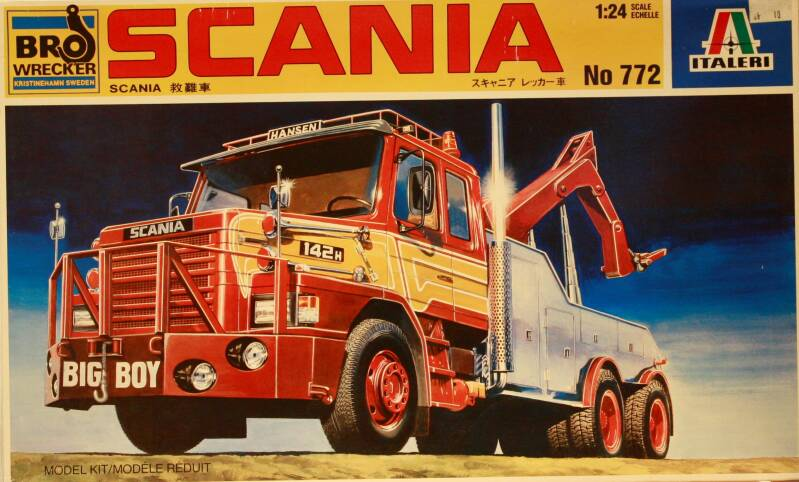 Italeri 1/24 Scania Wrecker