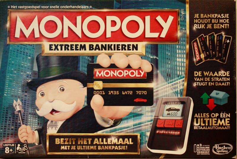 Parker monopoly Extreem bankieren uitgave