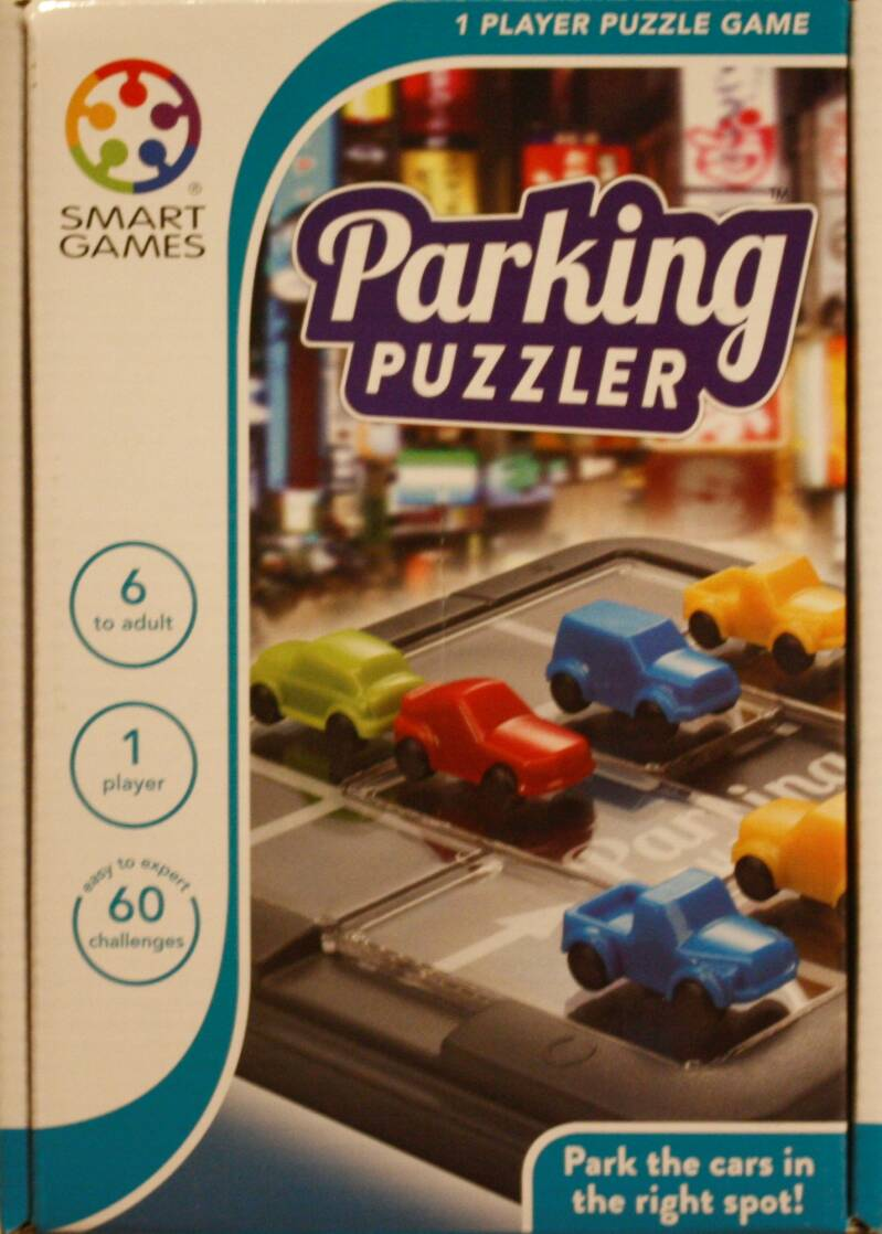 Smart Games  puzzel game Parking puzzel 434