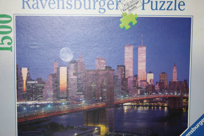 Ravensburger. Skyline van Manhattan 1500 st