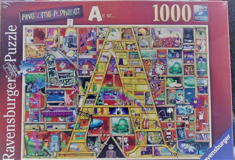 Ravensburger Awesome Alphabet  1000 st. Nieuw