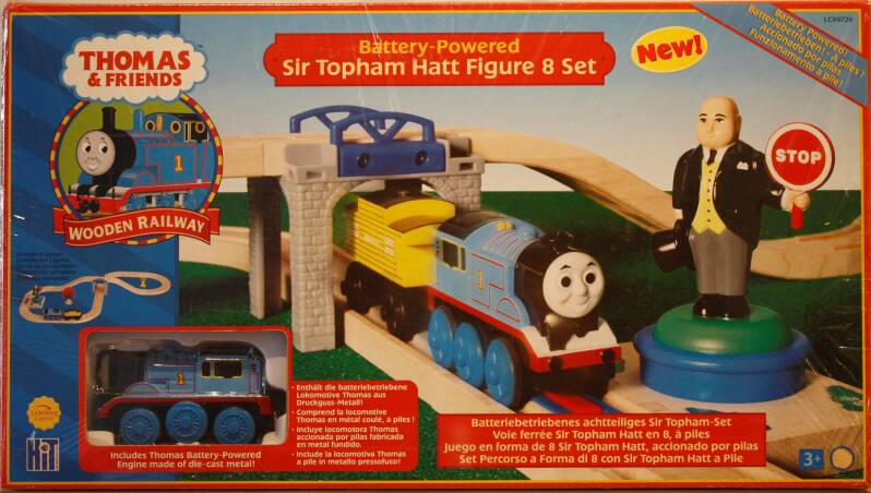 Thomas de trein sir topham hatt figure 8 set
