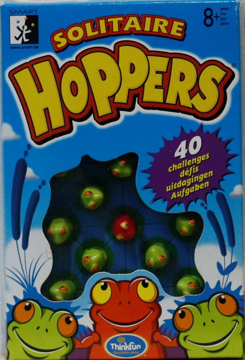 Thinkfun  solitaire Hoppers
