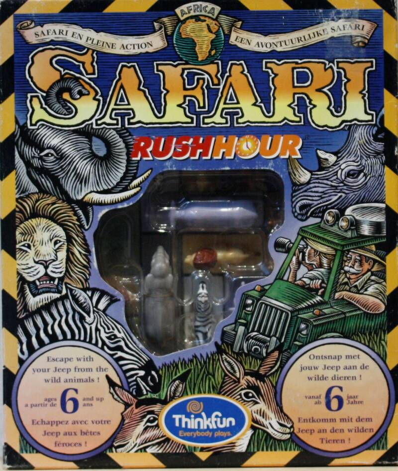 Thinkfun Safari Rushhour 51112