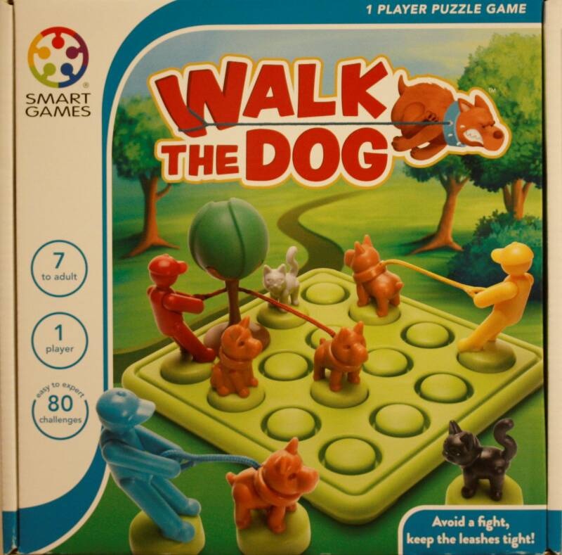 Smart Games  puzzel game Walk the dog 427