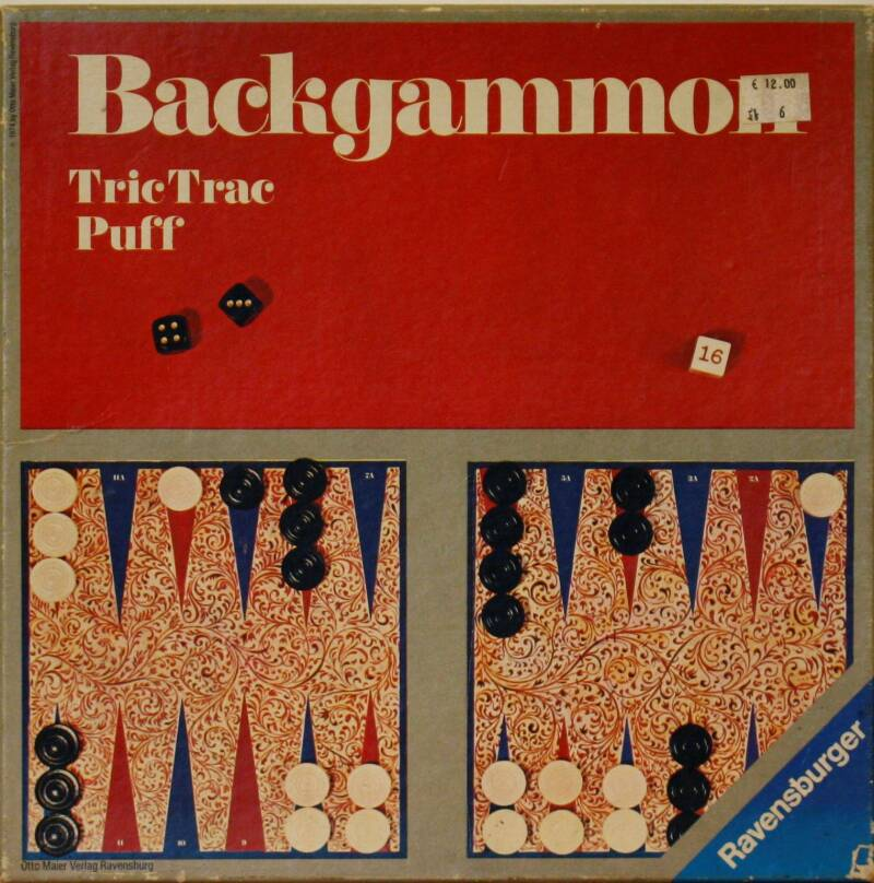 Ravensburger Backgammon