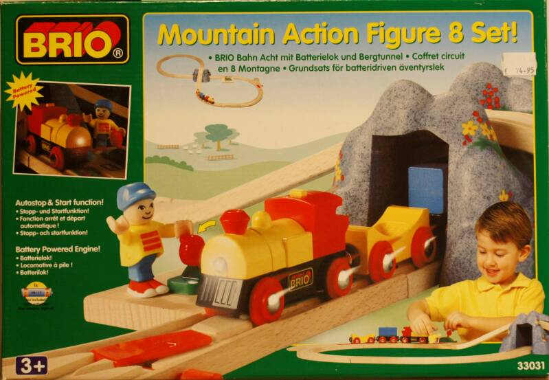 Brio  33031 mountain action figure 8 set