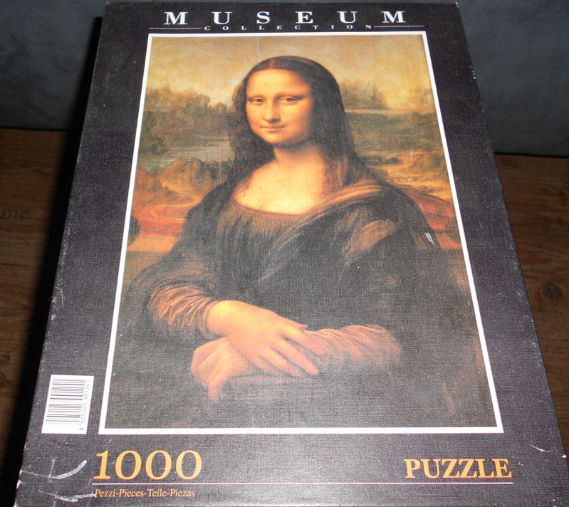 Museum collection Mona lisa  1000 st.