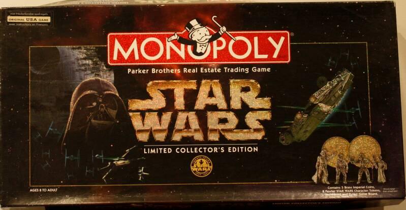 Parker monopoly Star wars limited collector's edition